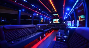 40 passenger party bus rental denver