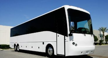 50 passenger charter bus rental denver