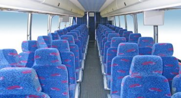 50 person charter bus rental denver