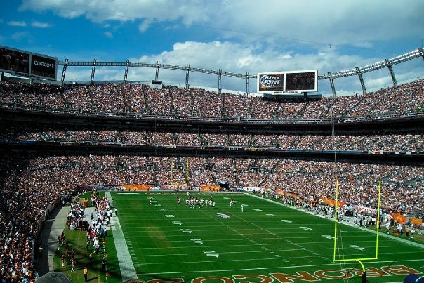 party bus service mile high stadium denver